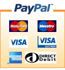 PayPal credit cards payment
